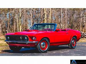 1969 Ford Mustang Convertible Candyapple Red - AutoMall Online