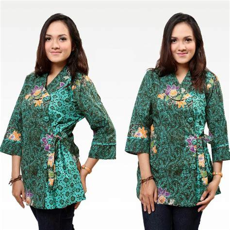 baju kemeja kerja wanita kemeja batik variasi terbaru 2017 model baju batik