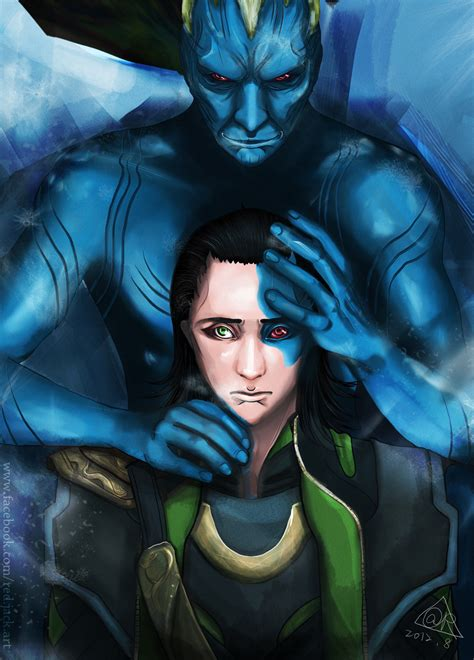 Loki Laufeyson With His True Father By Jackpapa On