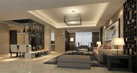 interior partitions for homes 3d modern house living dining room partition china interior design