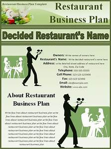 restaurant business plan template best word templates With how to make a business plan for a restaurant template