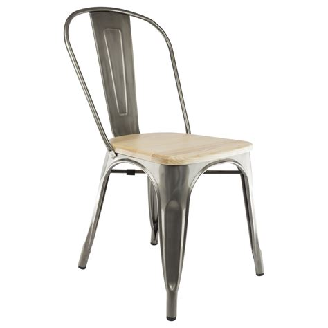 assise de chaise en bois revger com chaise style tolix assise bois idée