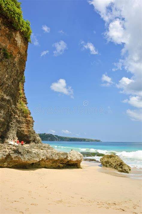 Dreamland Beach Bali Indonesia Stock Photography Image