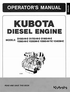 Kubota Diesel Engine D1503