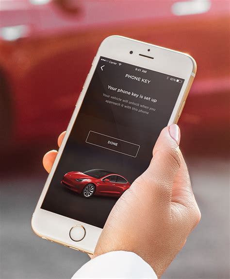 Tesla model 3 key card. Tesla Unveils New Model 3 Pictures, Shows Off iPhone-Based Unlocking System   iPhone in Canada Blog