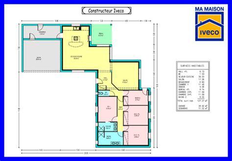 plan de maison contemporaine 4 chambres plan maison plain pied 4 chambres gratuit