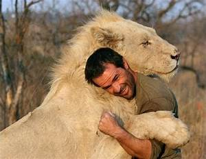 The Wild Hug : this man attempts to hug a wild lion what happened next is unbelievable ~ Eleganceandgraceweddings.com Haus und Dekorationen