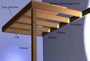 Fabriquer Une Mezzanine Soi Même : image de la construction de la charpente d 39 une mezzanine ~ Premium-room.com Idées de Décoration