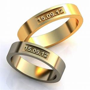 Wedding Date Rings, Unique Design Wedding Bands, Wedding ...