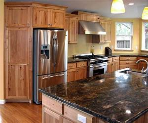 Hickory Hickory Cabinets Kitchen And Paint Colors