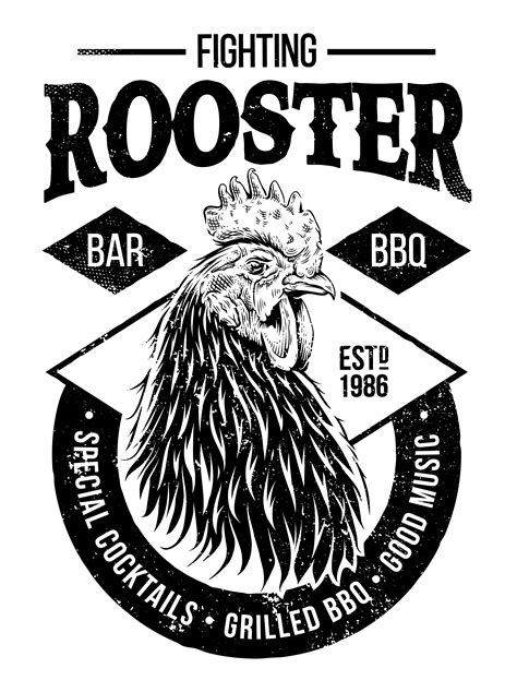 Fighting Rooster Design 331039 - Download Free Vectors ...