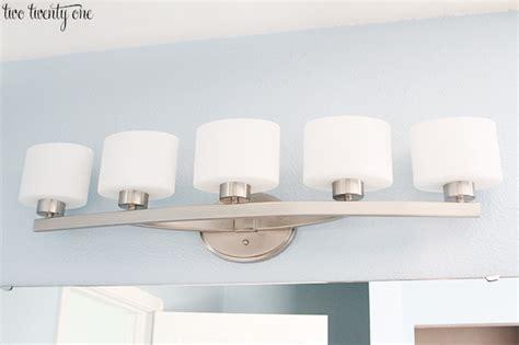 Bathroom 5 Light Fixtures by New Bathroom Vanity Lights