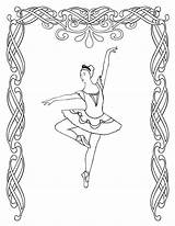 Coloring Pages Ballerina Ballet Printable Dance Adults Sheets Dancing Dancer Irish Bestcoloringpagesforkids Jazz Nutcracker Barbie Positions Getcoloringpages Cool Getcolorings sketch template