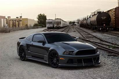 Mustang Ford Gt Wide S197 Widebody Blacked