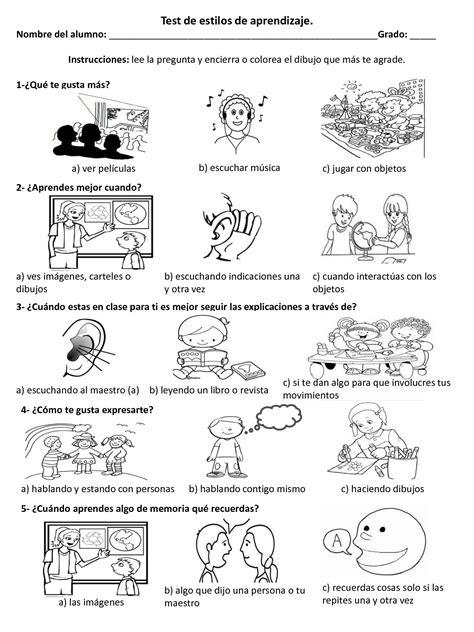 Calaméo Estilos De Aprendizaje Dibujos Para Niños