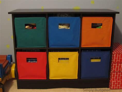 Kids Toy Storage Bins Fabric
