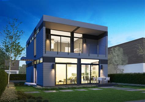 Prefabricated Home :  Prefabricated Homes Have Built-in