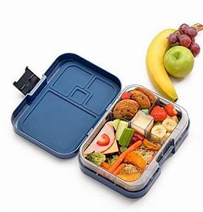 WonderEsque Bento Lunch Box - LeakProof Lunch Container ...