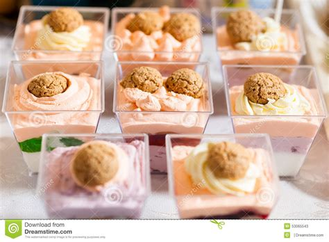 Cocktail Party Desserts Stock Image Image Of Food, Buffet