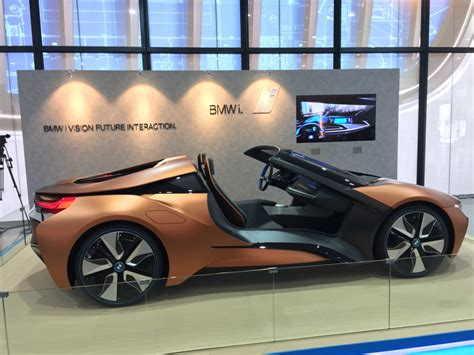 Bmw I Vision Future Interaction Concept Car In Singapore