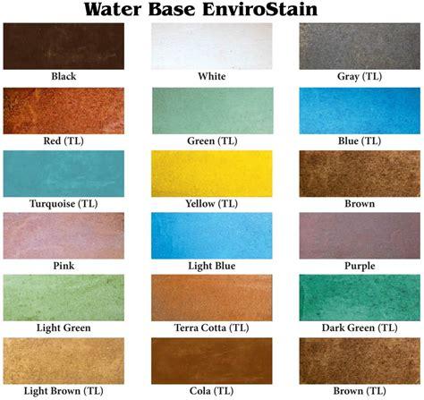 color charts patterns diamond kote decorative concrete