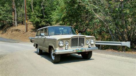 jeep kaiser wagoneer rare 1963 kaiser jeep wagoneer j 164 4 door station wagon