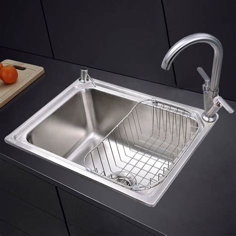 square kitchen sink stainless stainless steel 1 0 single bowl square kitchen sink with
