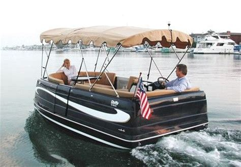 Best Pontoon Boat For Shallow Water by Duffy Cat 16 Electric Pontoon Boat The Green Pontoon