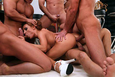 Mexican Harlot Endures Dp From Gang Dudes