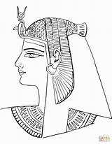 Egyptian Egypt Coloring Ancient Pages Nefertiti Drawing Tomb Queen Death Mask Sheet Rameses Iii Printable Pharaoh Pa Paper Horus sketch template