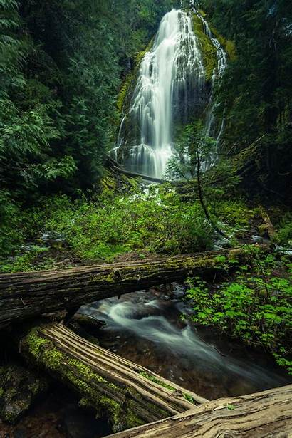 Nature Scenes Waterfall Landscape