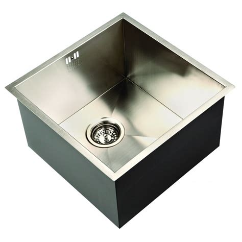 deep undermount kitchen sinks zenuno 400u deep undermount sink