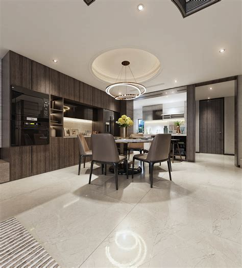 Modern Home Interior by Modern Asian Luxury Interior Design