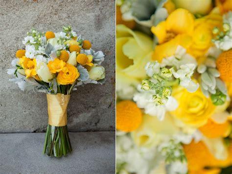 Sunshines Yellow Wedding Bouquet Utah Wedding Florist