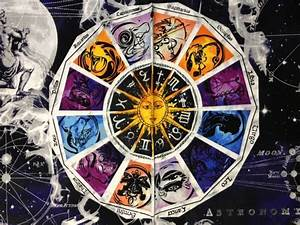 Zodiac Sun Moon Stars Galaxy New Dawn Astrology Awesome