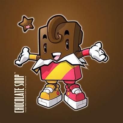 Character Illustrator Bar Chocolate Vector Tutorials Drink