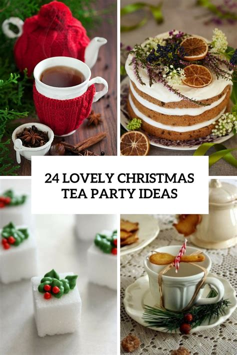 24 lovely christmas tea party ideas shelterness