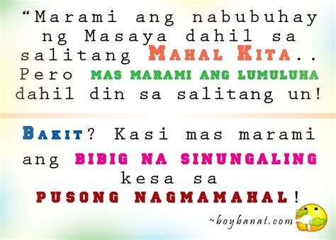 pinoy love quotes tagalog love quotes  cheesy lines