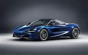 2018 McLaren 720S Atlantic Blue by MSO 5K Wallpapers HD