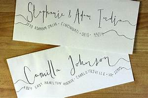 the 25 best handwritten wedding invitations ideas on With should wedding invitations envelopes be handwritten
