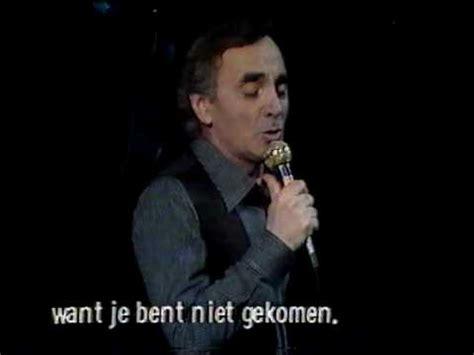 charles aznavour sur ma vie youtube