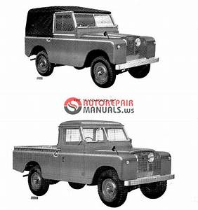 Land Rover Series Ii  U0026 Iia - Parts Catalogue