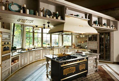 cuisine de luxe design cuisine moderne à l ameublement baroque remis au goût du