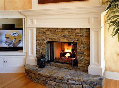 beautiful wood burning fireplace designs