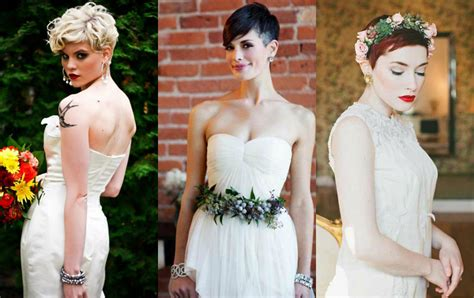Pixie Hairstyles For Wedding by Pixie Wedding Hairstyles To Inspire All Brides