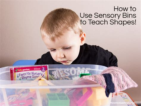 sensory bin to teach shapes to toddlers and preschoolers 747 | How to Teach Shapes to Toddlers and Preschoolers Moms Have Questions Too