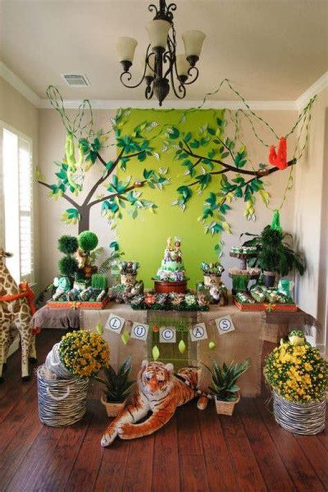 some astonishing diy birthday party ideas for zoo jungle animals theme diy craft ideas