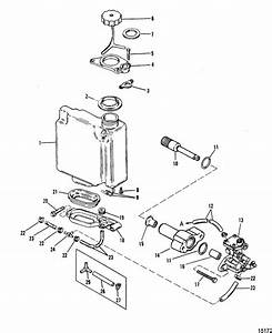 Mercury marine 90 hp 3 cylinder oil injection components for 1996 dt150stclt suzuki marine outboard fuel injector diagram and parts