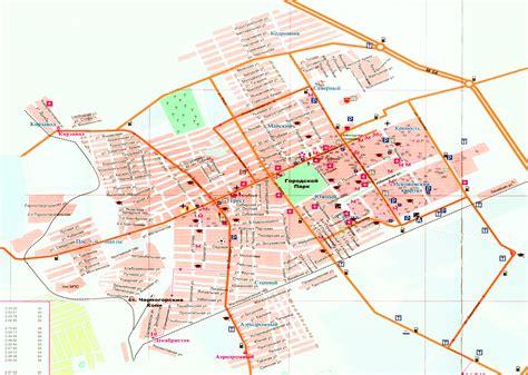 Карта Черногорска   Инфокарт - все карты сети
