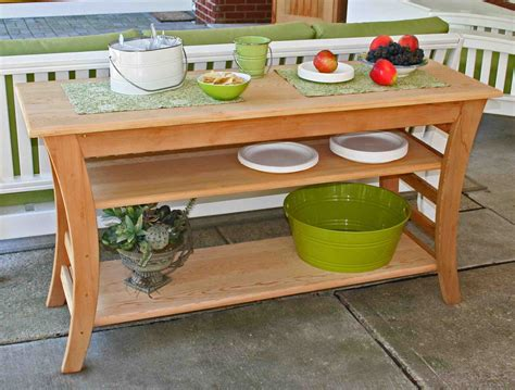 how to build a buffet table build an outdoor buffet table some functions of outdoor